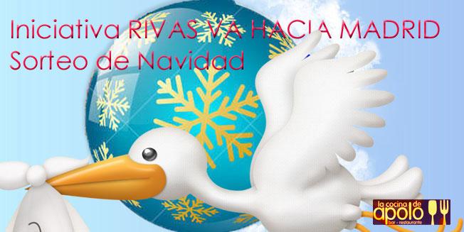 Sorteo de Navidad Blog Rivas Va Hacia Madrid