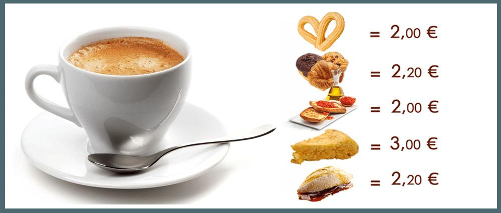 Cartas Restaurante La Cocina de Apolo Desayunos