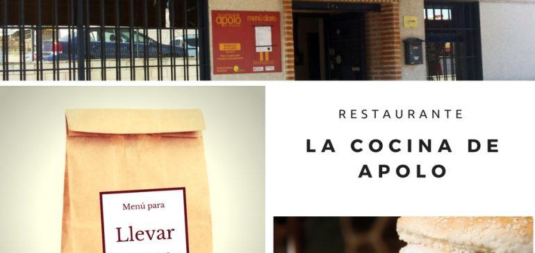 Menú para llevar Rivas Vaciamadrid La Cocina de Apolo