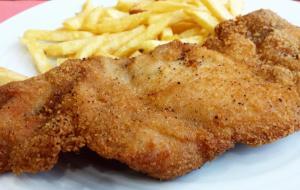 Escalope de pollo
