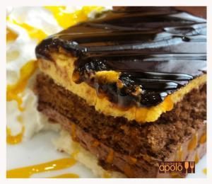 Tarta de chocolate y naranja
