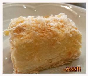 Tarta casera de hojaldre y crema