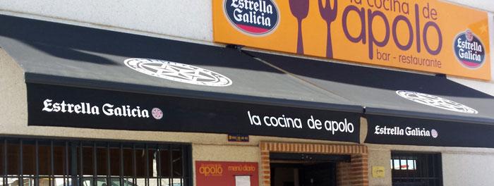 Contacto Restaurante la Cocina de Apolo